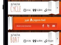Idea for a commuting app - Shot 02 by Rebecca Godfrey