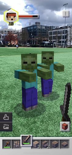 Minecraft Earth na App Store Minecraft App, Minecraft Earth, How To Play Minecraft, Earth Games, Pet Wolf, Minecraft Creations, The Real World, Augmented Reality