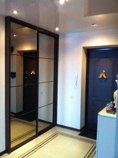 Прихожая Built In Robes, Closet Designs, Architecture Design, Loft, Building, Glass Doors, Inspiration, Furniture, Bedroom Ideas