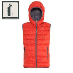 JEEP Outfitter -  MAN REVERSIBLE ECO-DOWN VEST W/HOOD J4W