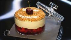 - Mousse cheese cake pour verrines- Pâte à streusel- Réalisation