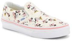 Vans 'Classic - Disney® Minnie Mouse' Slip-On (Baby, Walker, Toddler, Little Kid & Big Kid)