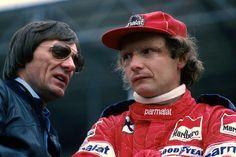 Bernie Ecclestone & Niki Lauda, 1978