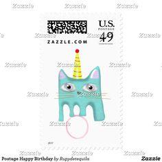 Postage Happy Birthday
