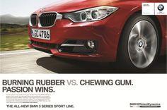 BMW advertising