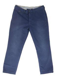 $ 35.00 - Polo Ralph Lauren Men's Slim Fit Sun Faded Vintage Nautical Chino 38/32 Sun Faded Blue Polo Ralph Lauren http://www.amazon.com/dp/B00IYJ7D36/ref=cm_sw_r_pi_dp_.doQtb129R3V7KVR