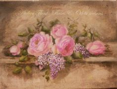 Roses & lilac by Helen Flont