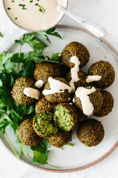 Falafel are delicious balls of chickpea goodness that are vegan and vegetarian. They're great in wraps, pitas, sandwiches and salads! meals air fryer Most Delicious Falafel Recipe (Fried or Baked) Chickpea Recipes, Vegetarian Recipes, Cooking Recipes, Healthy Recipes, Beef Recipes, Chickpea Salad, Easy Recipes, Healthy Snacks, Summer Recipes