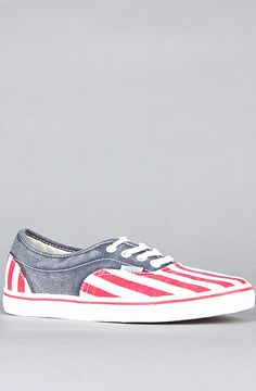 The LPE CA Sneaker in Red White and Blue by Vans Footwear
