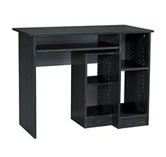 Mylex Computer Desk 395 W x 195 D x 3018 Inches Black Assembly Required 43254 ** Click on the image for additional details.Note:It is affiliate link to Amazon.