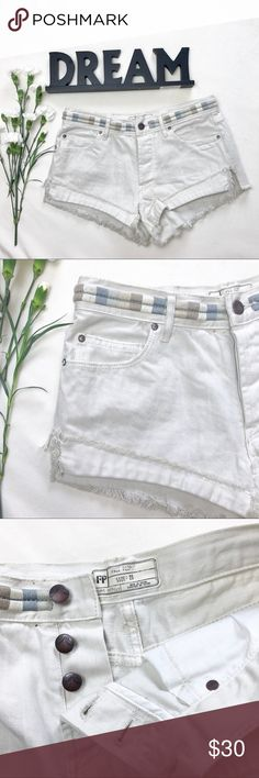 • Free People Cut-Off Shorts • Brand new! No tags. Free People Shorts Jean Shorts