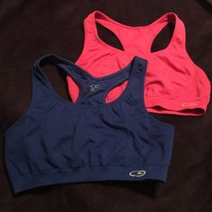 Champion Sports Bras Pink & Royal Blue Medium Champion Sports Bras Pink & Royal Blue in Medium, worn once, excellent condition. Champion Other
