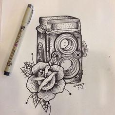 camera tattoo - Google 搜尋                                                                                                                                                                                 More