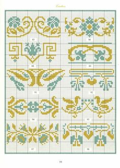 Borders in cross stitch 30