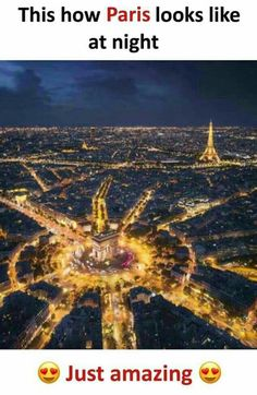 That's the reason paris is called a romantic destination! Amazing Places On Earth, Beautiful Places To Travel, Cool Places To Visit, Wonderful Places, Stunning Photography, Nature Photography, Wow Facts, True Facts, Weird Facts