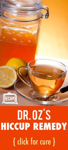 Want to get rid of hiccups quick? This remedy from Dr. Oz is the best cure for hiccups!