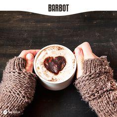 Os dias frios e solarengos de fevereiro pedem… uma deliciosa e reconfortante chávena de Chocolate Quente. Ou um Cappuccino. Ou uma taça de Café Preto. Sabores (e tons) distintos, o mesmo prazer.  Já pediu o seu favorito hoje? Barbot, novas sensações, novas histórias, novas emoções. www.barbot.pt
