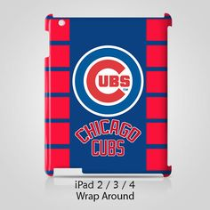 Chicago Cubs iPad 2 3 4 Case Cover