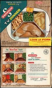 Vintage 1950s Tv Dinner - - Yahoo Image Search Results