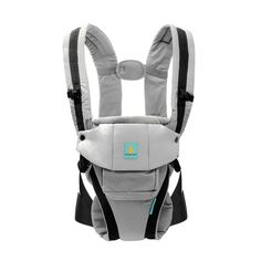b1483f19684 Baby Carrier 3 Positions Soft Carrier Easy Breastfeeding No Extra Insert  Needed Grey Cotton Kangarouse