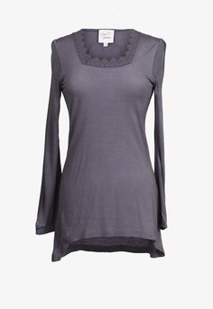 Elin Tunic Washed Black - Love Forever