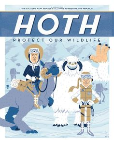 Hoth: Protect our Wildlife byIan Glaubinger