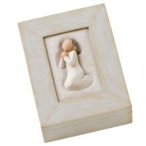 Double click on item to go to purchase page.  DEMDACO Willow Tree Prayer Memory Box  $22.02