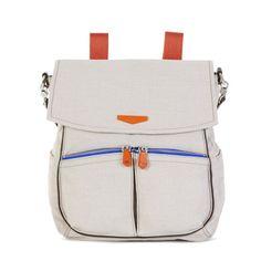 $229 Kaeon Crusader Convertible Backpack Tote - Beige