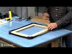 Enmarcar un lienzo (Bricocrack) - YouTube