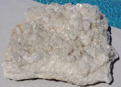 Stilbite Quartz 13.1 LB Specimen (Item# SN-MFR008) $35.00 US/OBO #quartz #large #homedecor #white #doorstop