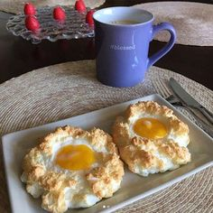 La última tendencia: Los huevos nube