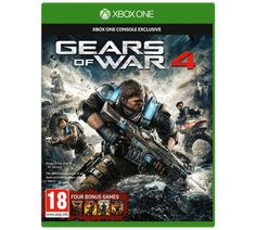Save 53% on Gears of War 4 Xbox One Game, now only for £19.49!!!