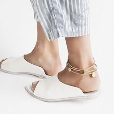 our discus anklets featured in @needsupply 's beautiful look book