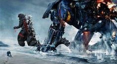 Godzilla vs Gipsy danger by ThrillerzillaArt.deviantart.com on @deviantART