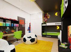 Zdjęcie numer 4 w galerii - Stylowy pokój dla dwóch chłopców