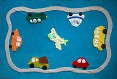 Puha autós takaró kisfiúknak, Baba-mama-gyerek, Otthon, lakberendezés, Gyerekszoba, Falvédő, takaró, Elsősorban autó- és járműrajongó kisfiúknak készült ez a takaró. Anyaga a melegebb napokra..., Meska