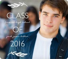 Magnetic Graduation Announcements - Cutting of the Ivy