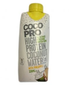 Cocopro Protein Drink Isolat Ananas.