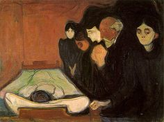 "Munch has many more paintings about death. He paint ""the Scream"" which is well known."