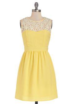 Lemonade for Each Other Dress | Mod Retro Vintage Dresses | ModCloth.com