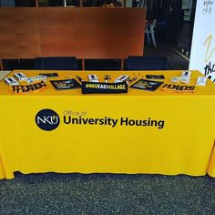 Come see #NKUHOUSING in the Student Union. #WhereWillYouLive?