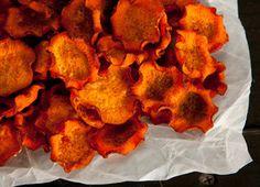 Paprika Sweet Potato Crisps