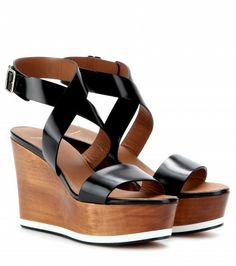 Ashlees Loves: Givenchy info @ashleesloves.com #Givenchy #Liloo #Leather #Wedge #Sandals #womens #designer #fashion #footwear #style