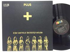 Plus - The Seven Deadly Sins 1970 US LP PROBE LP #Vinyl Record