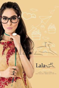 Lala Classic Kurti Embroidered Cool Styles 2016 has set modern trends in quality fabric and artistic designing. Lala Textiles special and extraordinary