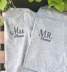 Anniversary Outfit, 20th Anniversary, School Spirit Shirts, Best Friend Outfits, Renewal Wedding, Couple Tshirts, Vows, Kristi Lynn, Shirt Designs