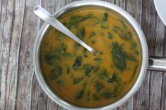 Skvelá mrkvová polievka so špenátom