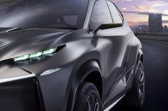 Overseas concept vehicle shown.