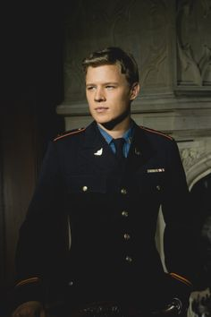 Christopher Egan ---- just imagine an SS Captain's uniform in place of this one and you have Captain Krieger. (: