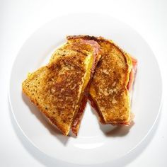 Super Bowl Sandwiches by the WSJ - Grilled Cheese with Curds, Prosciutto and Tomato Marmalade by F.Martin Ramin